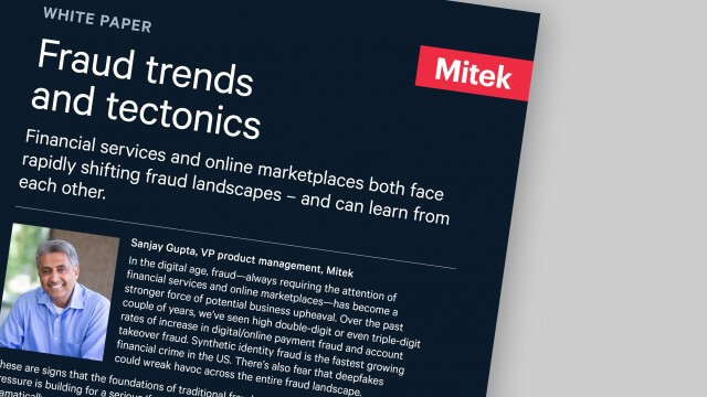 Fraud trends tectonics